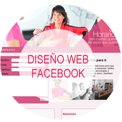 dise�o web facebook